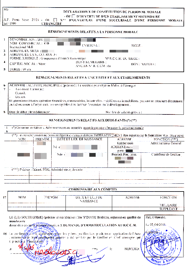 Certificat%20d%27immatriculation%20%20RCCM Tax Clearance Application Form on what is sales, delaware application for, how get sars, property philippines, application individual, certificate nepal, letter scam,