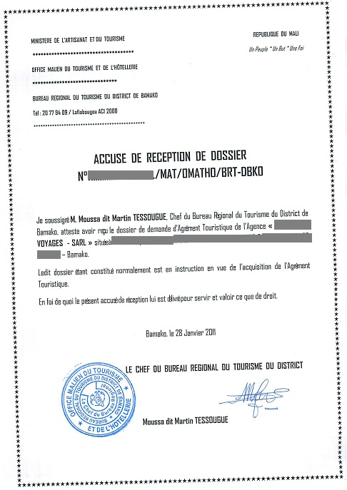 Eregulations mali - Office du tourisme de merville franceville 14 ...