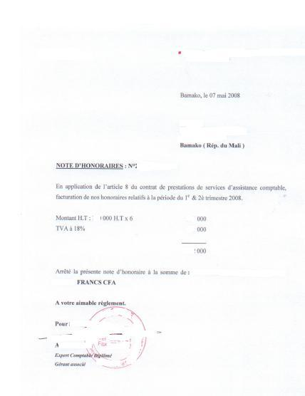 modele resiliation lettre de mission expert comptable document