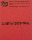 Carnet d'accident du travail